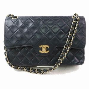 Chanel Double Flap Medium Classic Quilted Chain